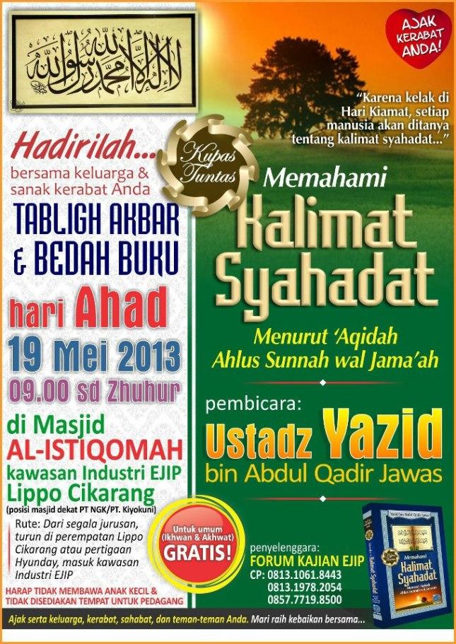 bedah buku 19 mei 2013
